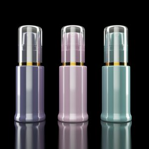 Cosmetics containers / packaging. High resolution.